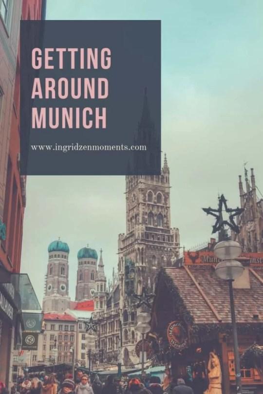 Getting around Munich