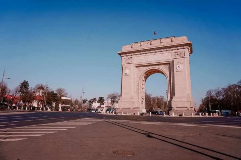 One day in Bucharest