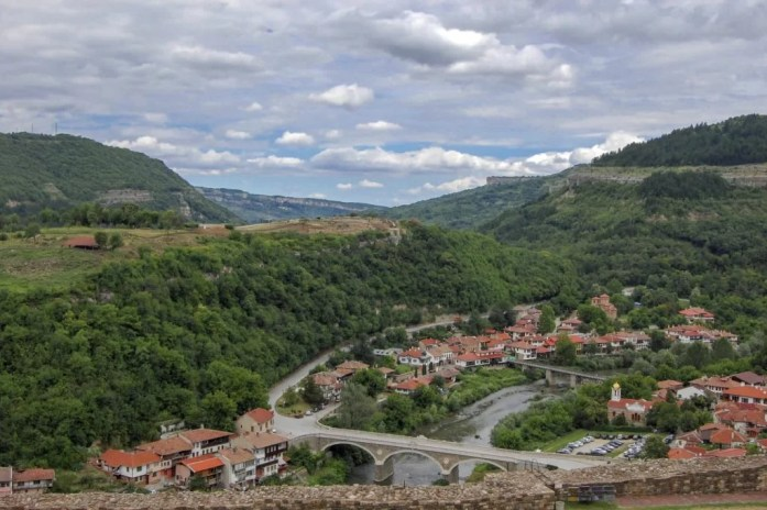 Veliko Tarnovo and lavender fields of Bulgaria