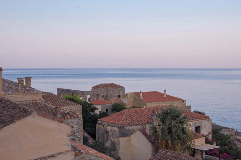 Peloponnese travel - Monemvasia
