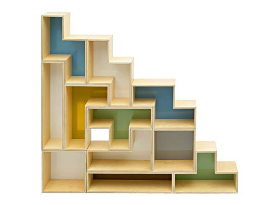 Tetris Shelves, Brave Space Designs, Eco-friendly Shelving, Tetris Shelving, Tetris Furniture, Bamboo Furniture