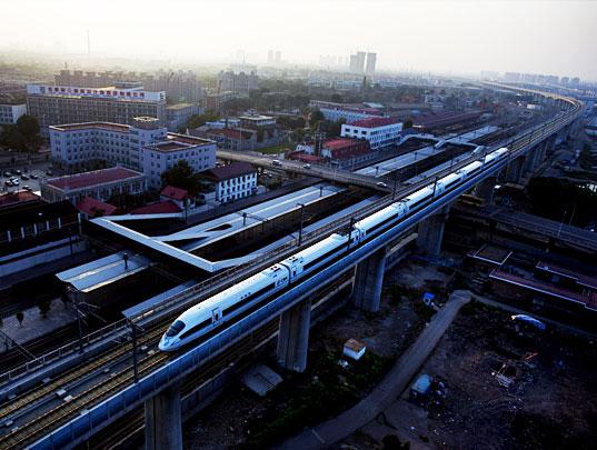 China cuenta con un sistema ferroviario entre los más avanzados del Mundo.