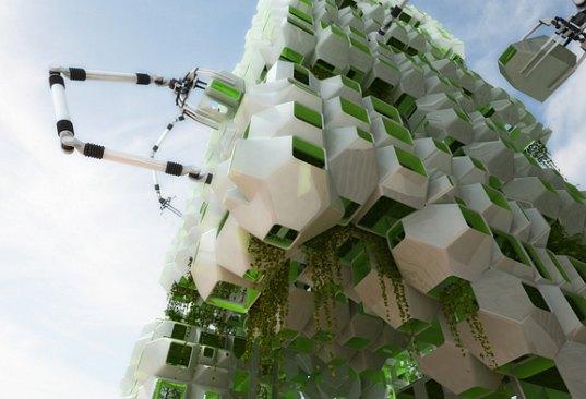 filene development, stalled project, howeler + yoon, boston, boston globe, bio-fuel, bio-fuel producing algae, algae, eco pods, algae eco pods, prefab