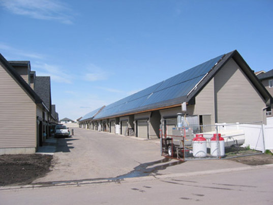 Drake Landing Solar Community, Drake Landing Alberta Canada, solar thermal community Canada, solar thermal community, solar thermal energy, solar thermal heating, Okotoks solar community, drake4.jpg