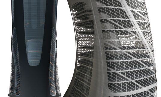 Euroscraper, Jose Munoz Villers, Paris skyscraper, green skyscraper