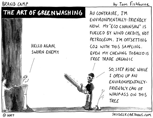 Green Washing de Inhabitat
