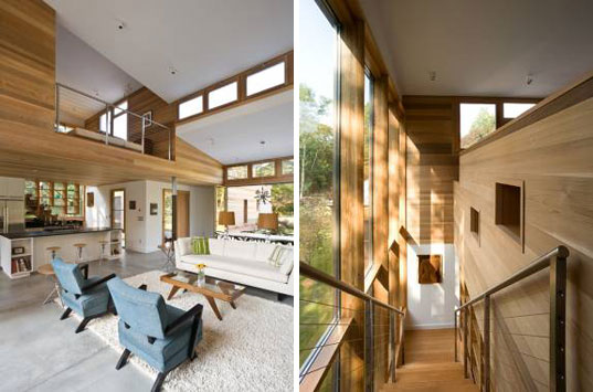 Berg Design, energy star, John Berg, kynar, low-e glass, mid-century modern, Old Stone Highway House, saline pool, sips, structural insulated panels, sustainable architecture, Highway3