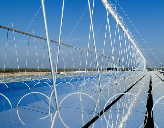 ausra solar thermal plant, kimberlina solar thermal plant, concentrated solar technology, alternative energy, renewable energy, bakersfield solar plant, california solar plant