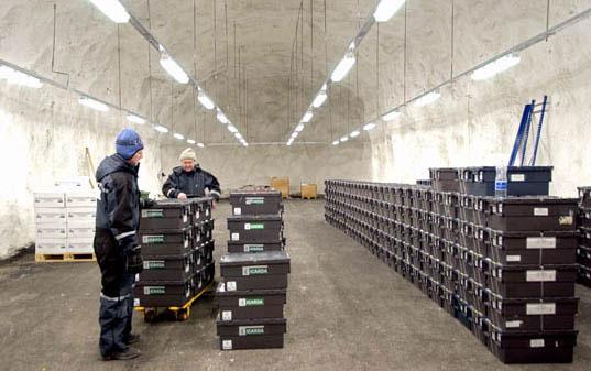 seed5.jpg, Svalbard Global Seed Vault, Seed conservation, Global Seed Vault, agricultural conservation, agricultural facility, norway seed facility, norway seed vault, svalbard seeds, seed protection
