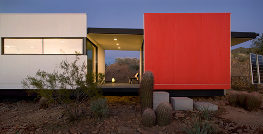 Jennifer Siegal, Office of Mobile Design. PrairieMod, PreFab Modern, Sustainable Building, Taliesin West, school of frank lloyd wright, modfab prefab, prefab housing, prefab design, green design, prefabricated architecture, prefab architecture, green architecture<br /><br />