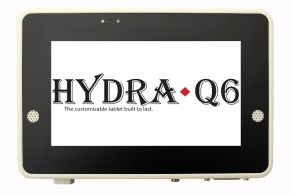 Hydra-Q6 rugged tablet