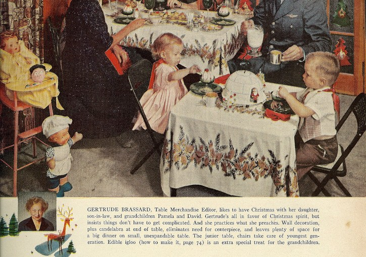 Holidays: The Kids' Table