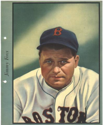 1938 Jimmie Foxx Dixie Premium Photo