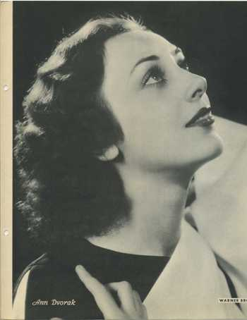 1934 Ann Dvorak Dixie Premium Photo