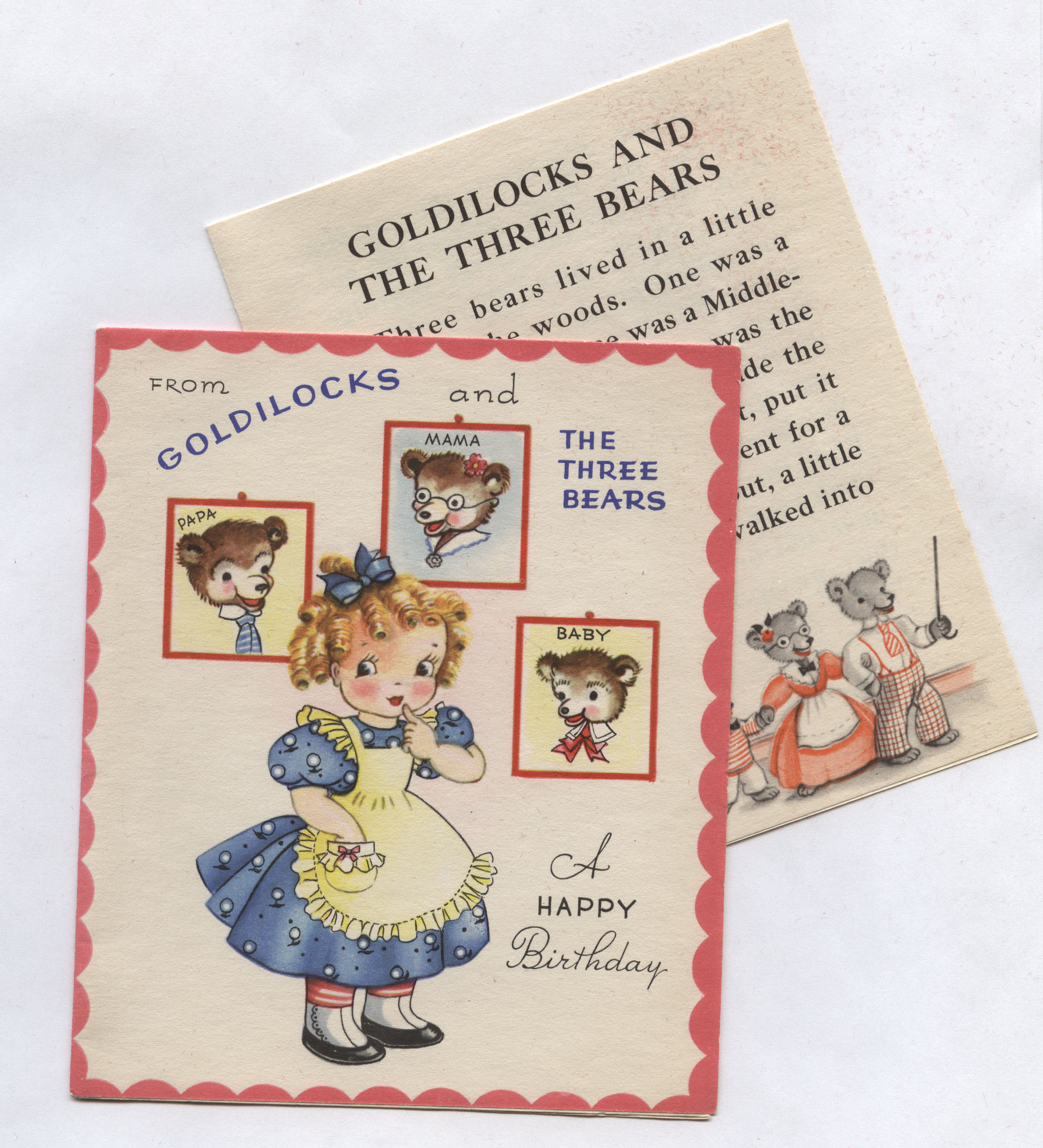 Greeting Cards Inherited Values