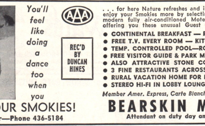 Vintage Ad For A Motel I Can't Bear To Stay At