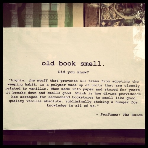 Why Old Books, Antique Bookstores, Archives, & Book Collections Smell So Good