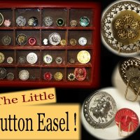 Little Easels To Display Your Small Collectibles, Miniature Works Of Art
