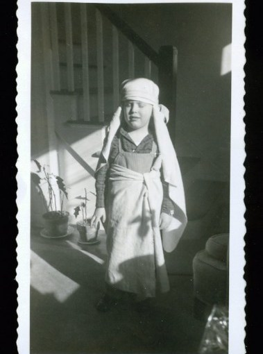 Vintage Snapshots Of Kids In Halloween Costumes