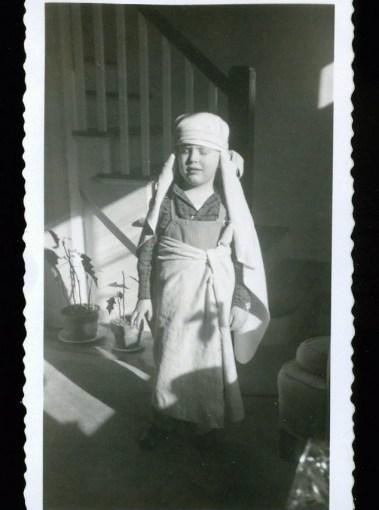 Vintage Snapshots Of Kids In Halloween Costumes