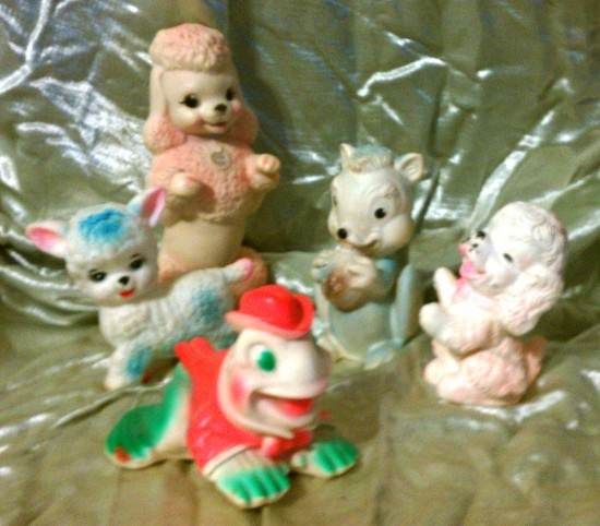 Collecting Vintage Rubber Squeaky Toys