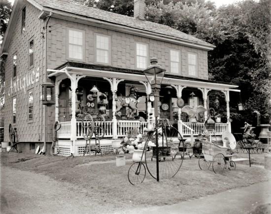 A 1950s Antique Shop