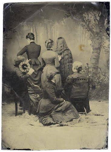Discussing What's Going On In These Antique Photographs