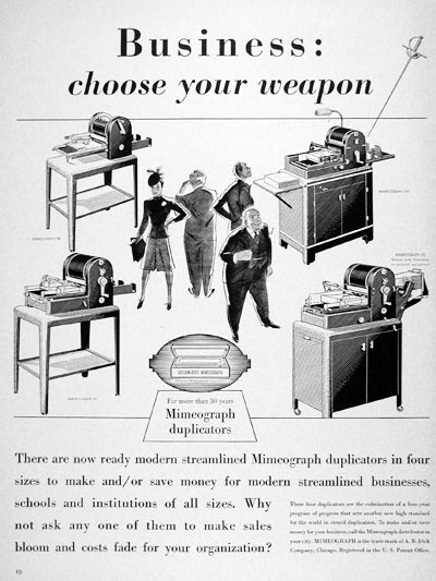 bisoness-chose-weapon-mimeograph