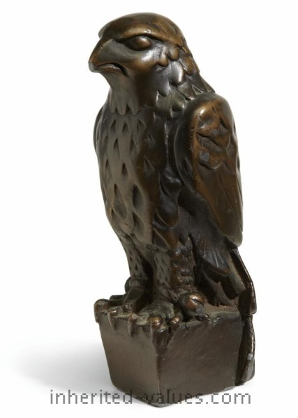The Maltese Falcon statuette