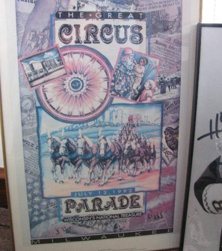 Vintage Clown & Circus Memorabilia Up For Sale