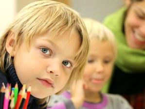 foto jongen in de klas