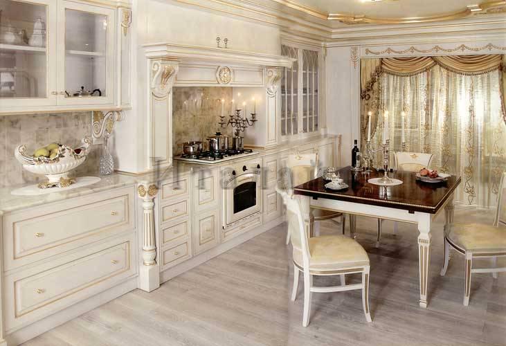 дизайн классической кухни 6