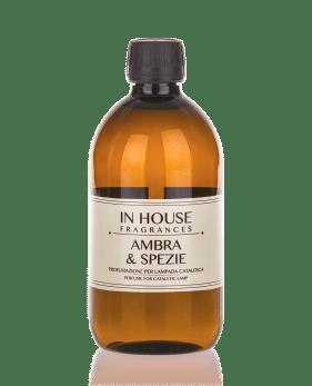 Ambra & Spezie - Ricarica Catalitica 500 ml - In House Fragrances