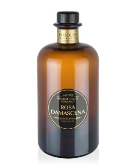 Rosa Damascena - Diffusore vetro 500ml - In House Fragrances Premium