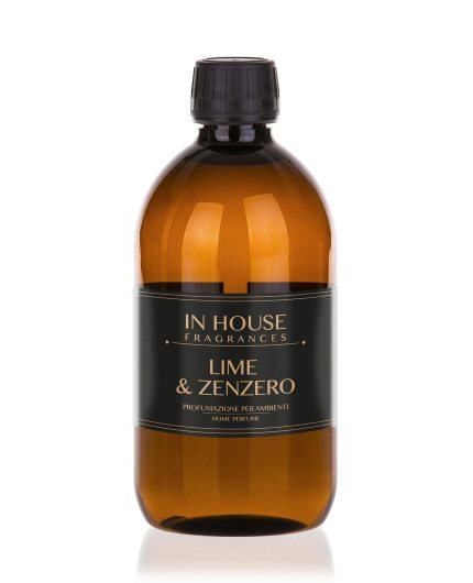 Lime Zenzero - Ricarica Profumo casa 500ml - In House Fragrances - Linea-Premium-Gida-Profumi