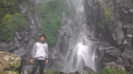 Wisata Bandung Air Terjun Siliwangi (Curug Siliwangi) di Gunung Puntang