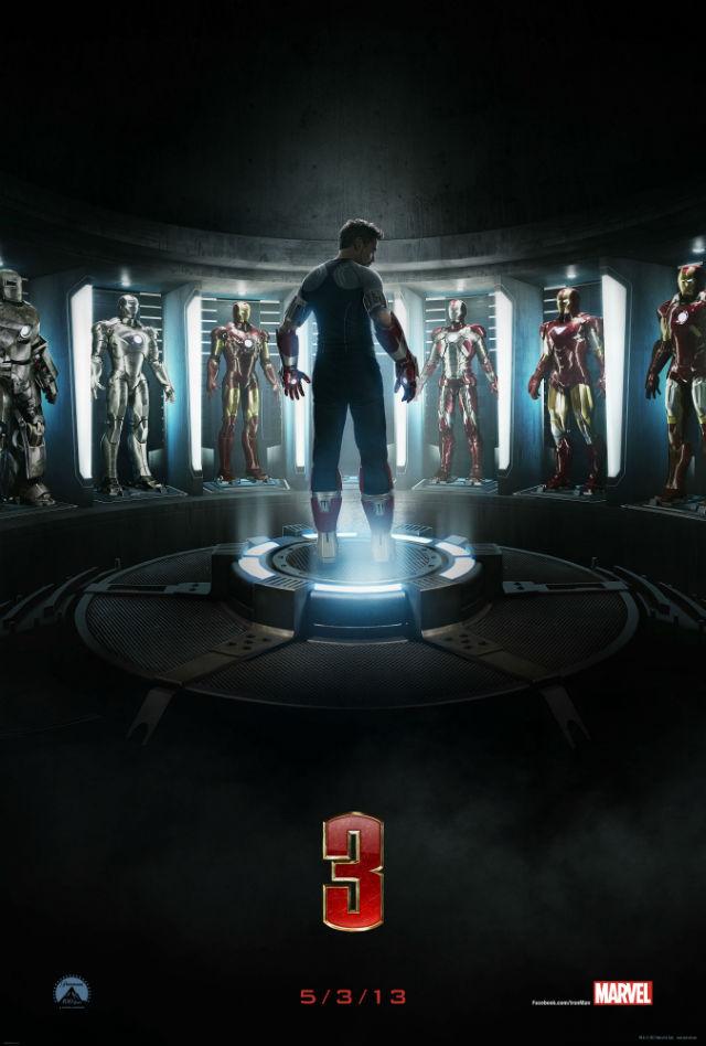 Homem de Ferro 3 vem aí! Veja o poster e o trailer