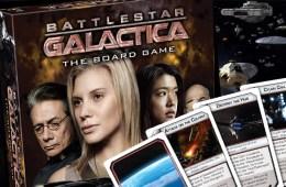 BATTLESTAR GALACTICA: batalhas estelares no tabuleiro