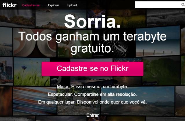 Sorria! Flickr ressurge oferecendo 1 Terabyte de graça