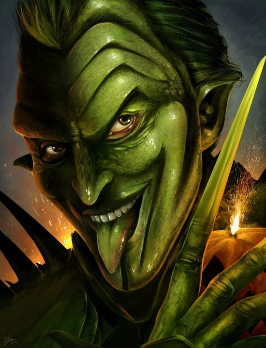 GREEN GOBLIN CONCEPT ART