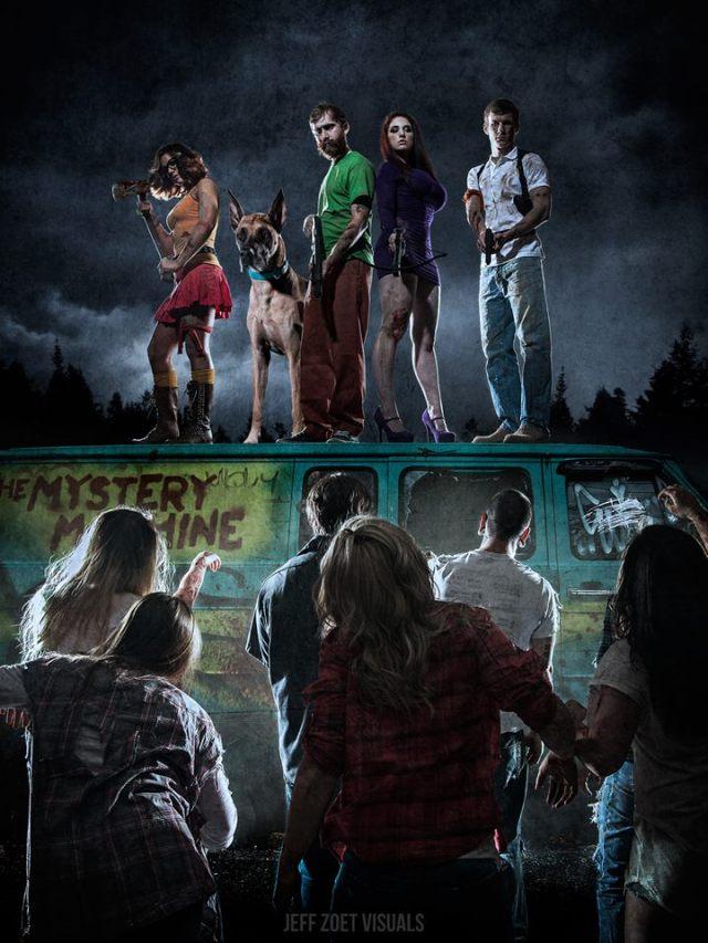 Scooby Doo Mystery Team  (12)