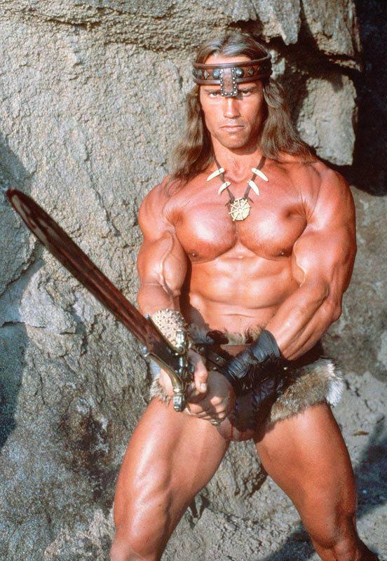 Mas só para deixar bem claro: o Conan do Howard não se parecia em nada com isso.