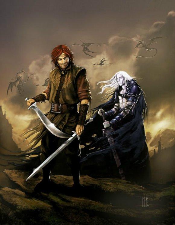 Moonglum, o amigo mais fiel de Elric.