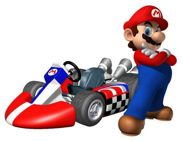 Mario Kart em stop motion e de verdade (ou quase)