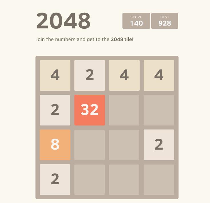2048: viciante e simples!