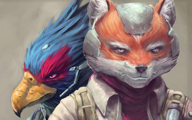 STAR FOX - arte por Oscar Römer