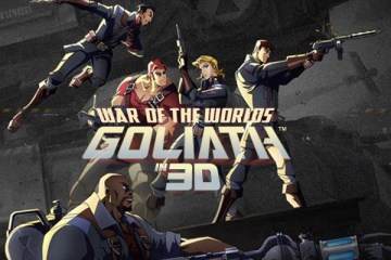 Os alienígenas atacam em WAR OF THE WORLDS: GOLIATH