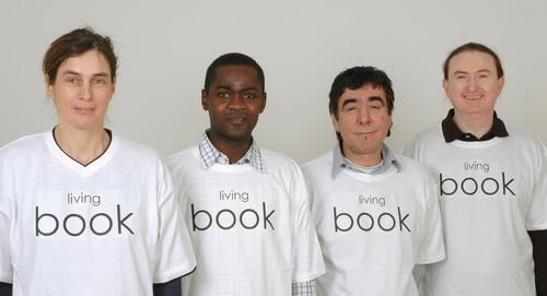 Con todos ustedes: los libros vivientes