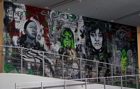 Imagen del mural El activismo nunca estará acabado