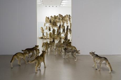 Imagen de la obra Head-on de Cai Quo-Qiang